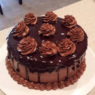 Chocolate Sugarfree Cake