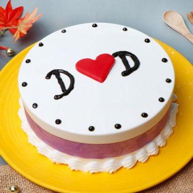 I Love Dad Cake