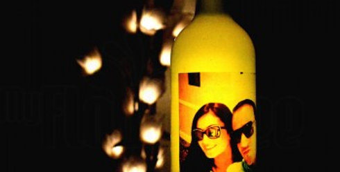 Customizable Photo Bottle Lamp