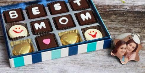 Chocolate Box and Customized Keychain