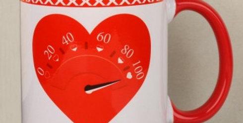 Heart Speedometer Mug