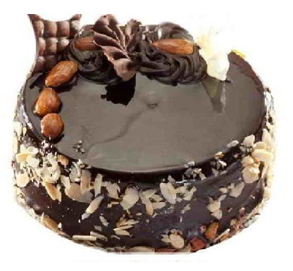 Choco Almond Treat Cake