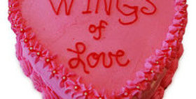 Wings of Love Cake