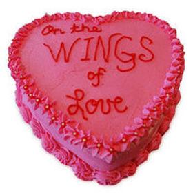 Wings of Love Cake