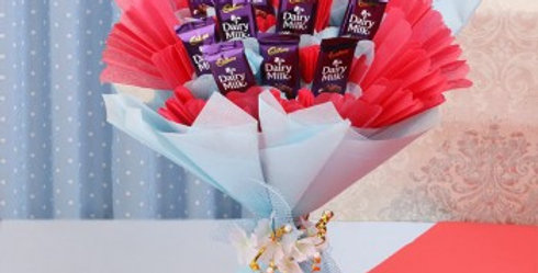 Small Dairy Milk Fancy Bouquet