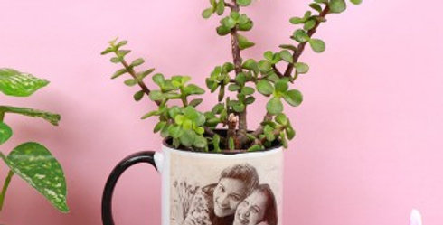 Customizable Photo Mug Vase