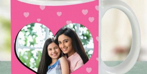 Special Heart Customizable Photo Mug