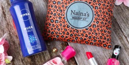Special Customized Makeup Bag and Makeup Combo - I