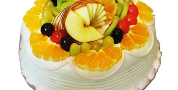 Overload of Fruits Cake