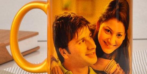 Gold Customized Photo Mug