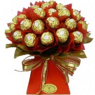 Ferrero Rocher Ribbon Bouqet