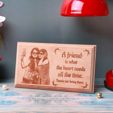 Customized Wooden Plaque with Message
