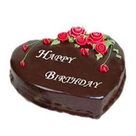 Choco Truffle Love Cake