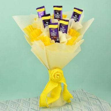 The Dairy Milk Yellow Bouquet