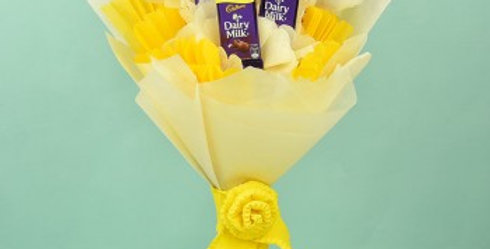 The Dairy Milk Yellow Bouquet