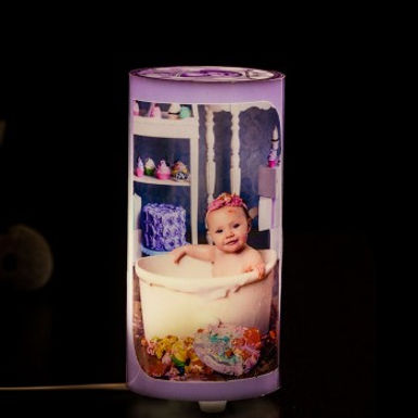 Customized Cylinder Lamp