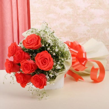 Elegance Thy Name Red Rose Bouquet