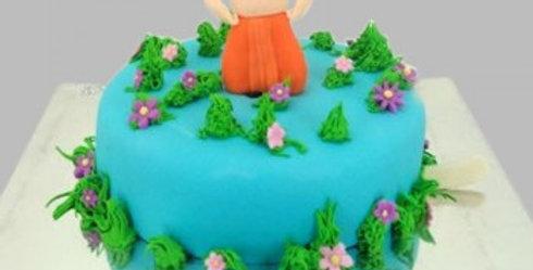 Chhota Bheem Fondant Cake