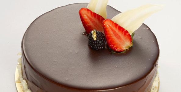 Fruit Choco Cake