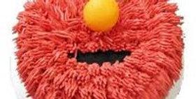 The Elmo Designer Cake