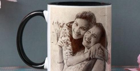 Customized Mom Daughter Mug