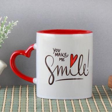 You Make Me Smile Cup