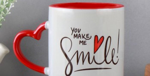 You Make Me Smile Cup