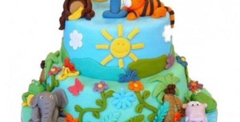 Jungle King Cake