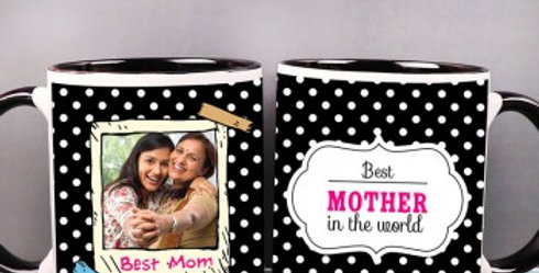Mother's Day Polka Dots Cup
