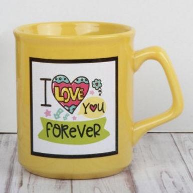 I love you forever Heart Mug