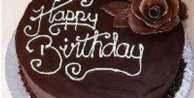 Luscious Dense Melody Chocolate Cake