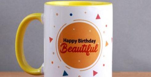Happy Birthday Beautiful Cup