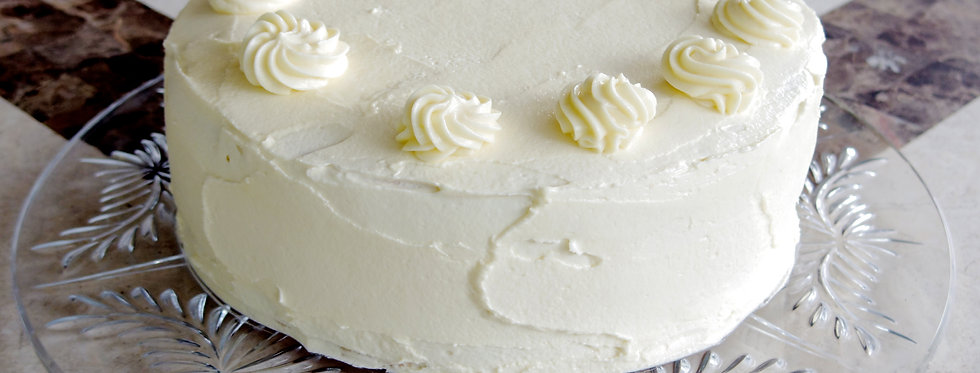 Vanilla Thick Cream Cake