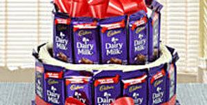 Twin Storeyed Dairy Milk Chocolates