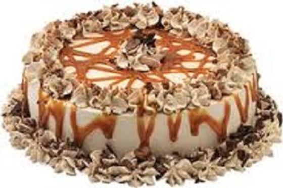Choco Marble Caramel Cake