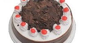 Round Black Forest Choco Cake