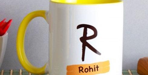 Customizable Name and Letter Mug