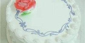 Cute vanilla cake
