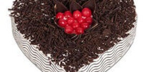 Black Forest Choco Sprinkle Cake