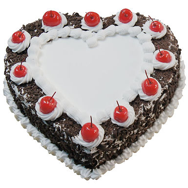 I Heart You Black Forest Cake
