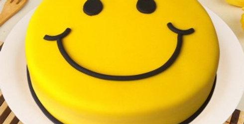 Smiling Emoji Cake
