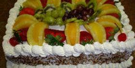 Exotic Fruit Vanilla Cake