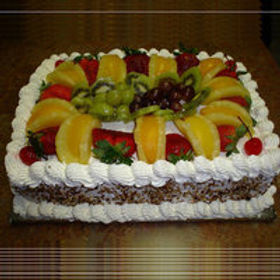 Exotic Fruit Vanilla Cake