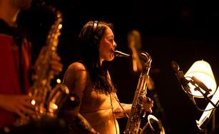 Elin Forkelid, tenor saxophone