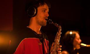 Simon Pehrson Balvig, alto saxophone