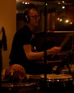 Konrad Agnas, drums
