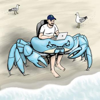 Crab Desk
