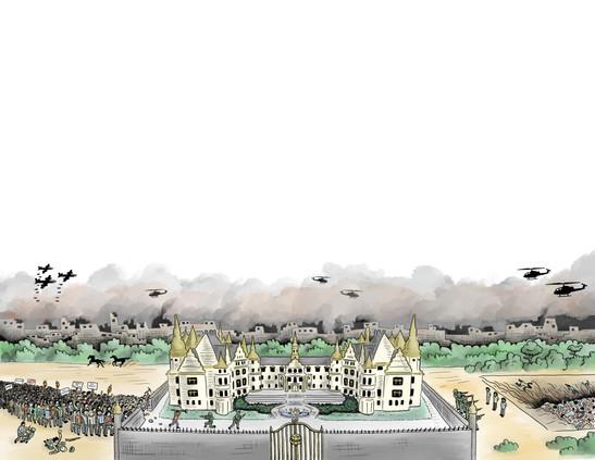 """""""El Retrato"""" Palace Scene"""