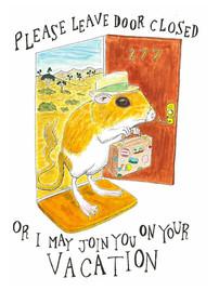Kangaroo Rat Warning