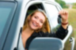 Happy student driver